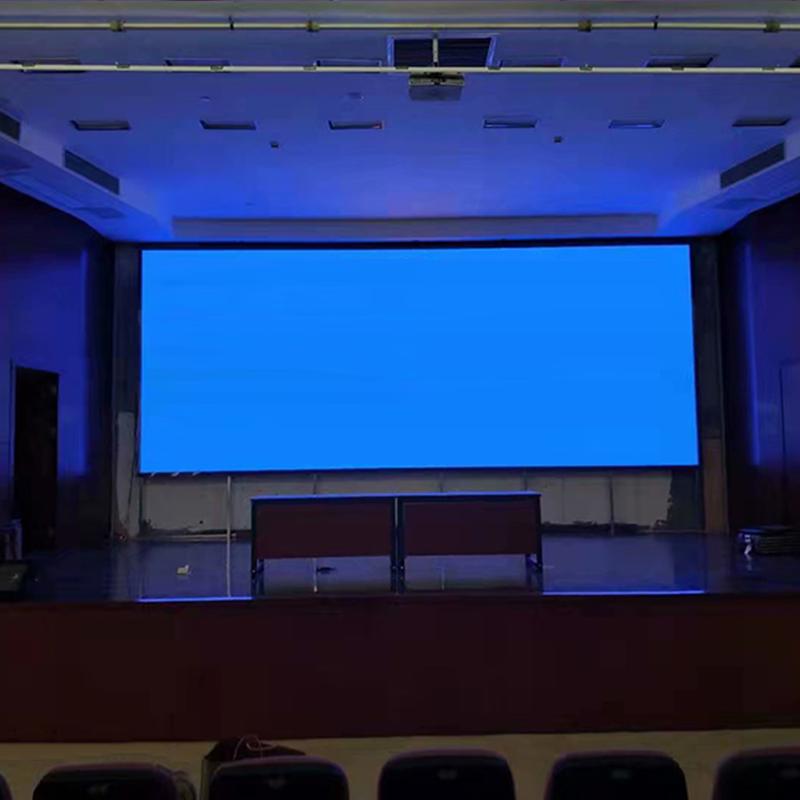 江蘇某影院Led顯示屏安裝完成