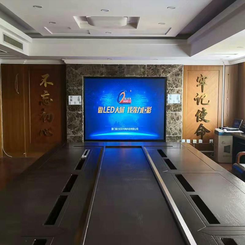 銀川市某法院室內led顯示屏
